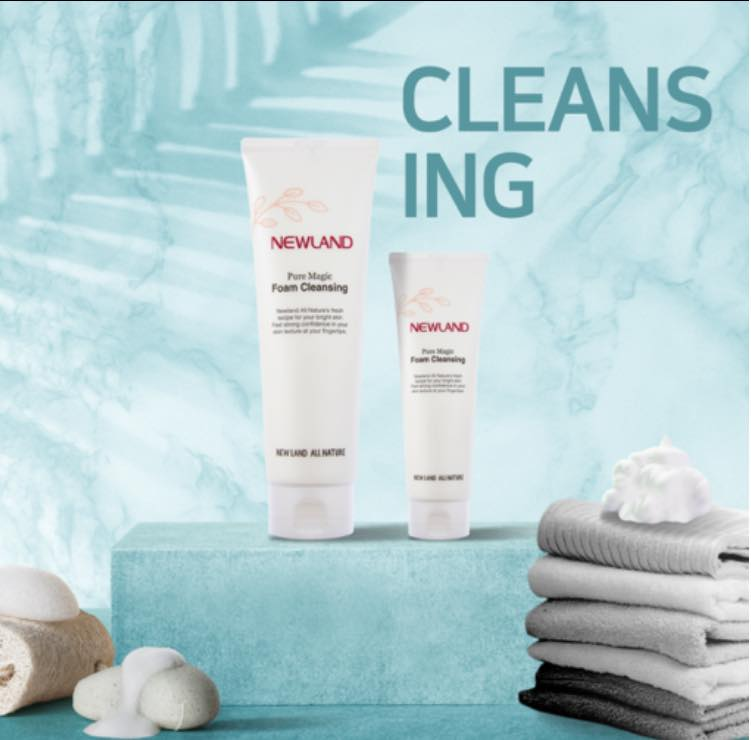 sữa rửa mặt Newland Pure Magic Foam Cleansing