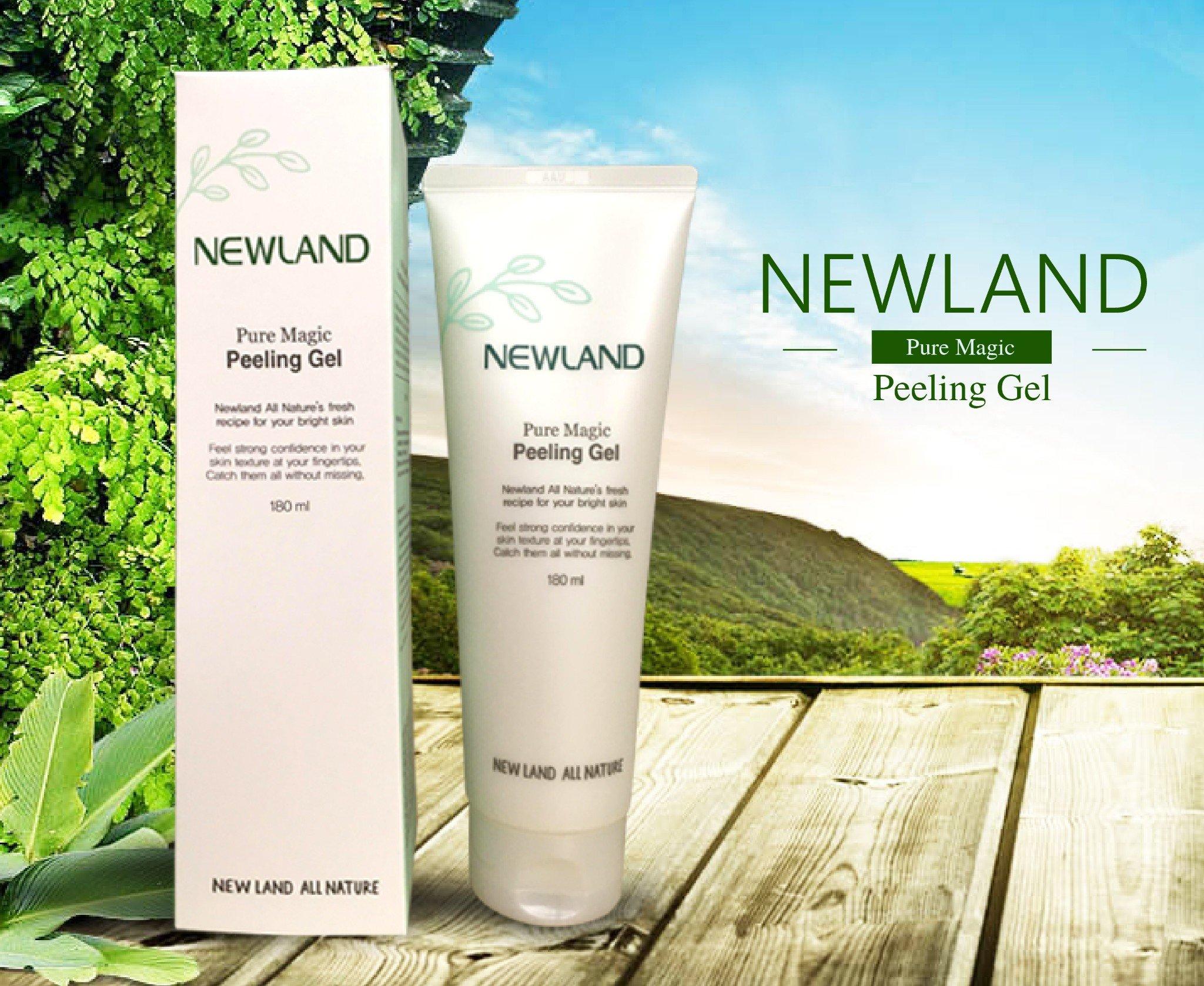 tẩy tế bào chết Newland Pure Magic Peeling Gel