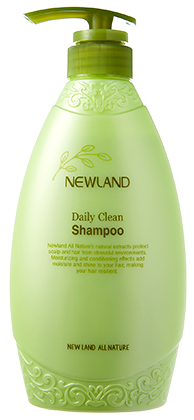Dầu Gội Newland Daily Clean Shampoo 500ml