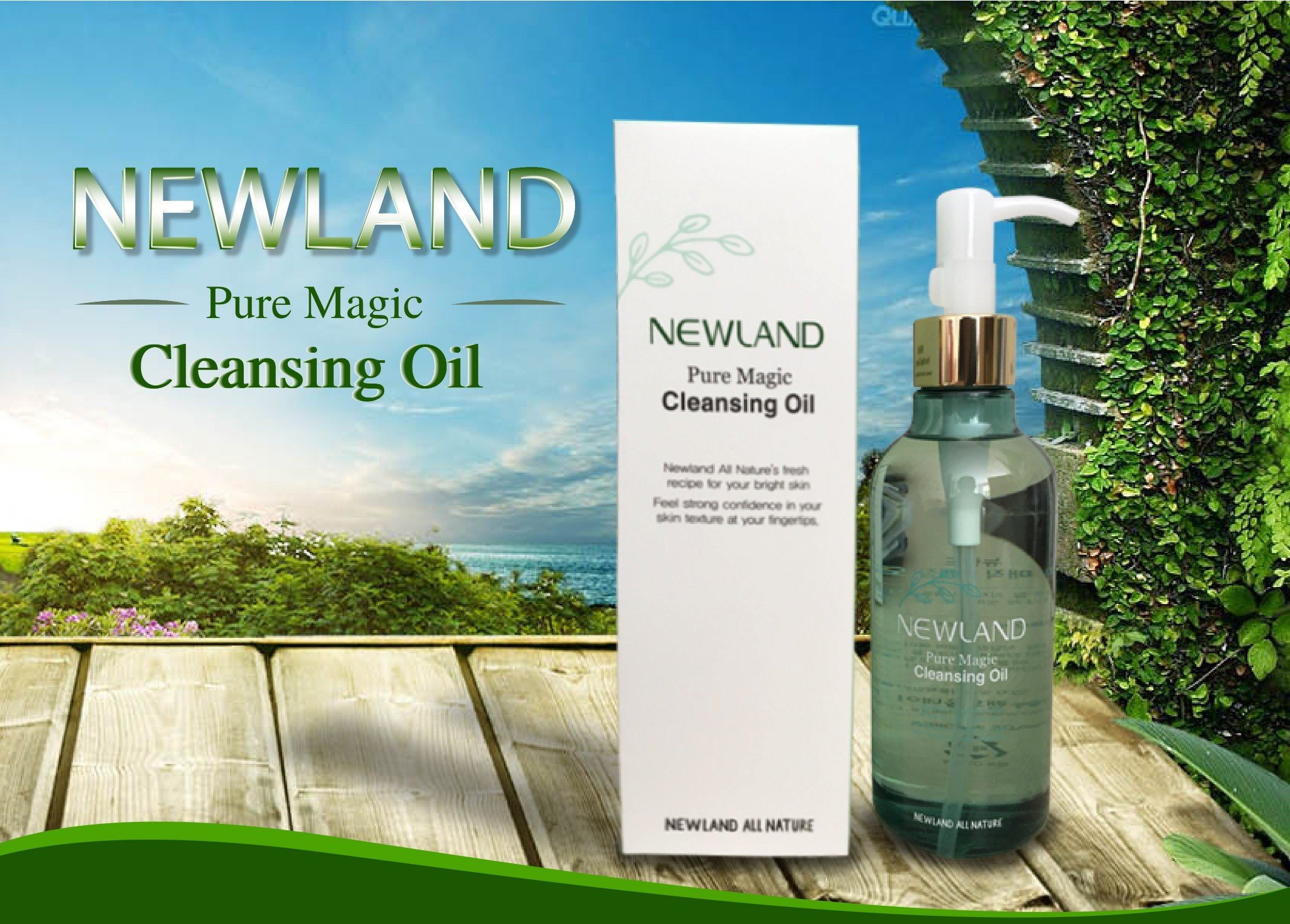 dầu tẩy trang Melrose Pure Magic Cleansing Oil NewLand